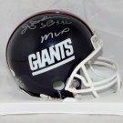 Ottis Anderson Autographed Signed New York Giants Mini Helmet JSA