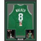 Kemba Walker Signed Autographed Framed Boston Celtics Jersey JSA