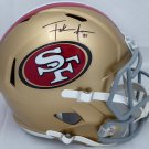 Frank Gore Autographed Signed San Francisco 49ers FS Speed Helmet BECKETT