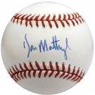 Don Mattingly Yankees Signed Autographed AL Baseball BECKETT