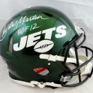 Curtis Martin Autographed Signed New York Jets FS Speed Helmet BECKETT