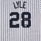 Sparky Lyle Signed Autographed New York Yankees Jersey JSA