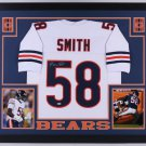 Roquan Smith Autographed Signed Framed Chicago Bears Jersey BECKETT