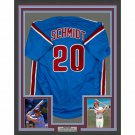 Mike Schmidt Signed Autographed Framed Philadelphia Phillies Jersey GTSM HOLO