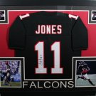Julio Jones Autographed Signed Framed Atlanta Falcons Jersey JSA