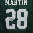 Curtis Martin Autographed Signed New York Jets Jersey JSA