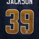 Steven Jackson Autographed Signed St. Louis Rams Jersey BECKETT