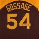 Goose Gossage Autographed Signed San Diego Padres Jersey JSA