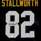 John Stallworth Autographed Signed Pittsburgh Steelers Jersey JSA