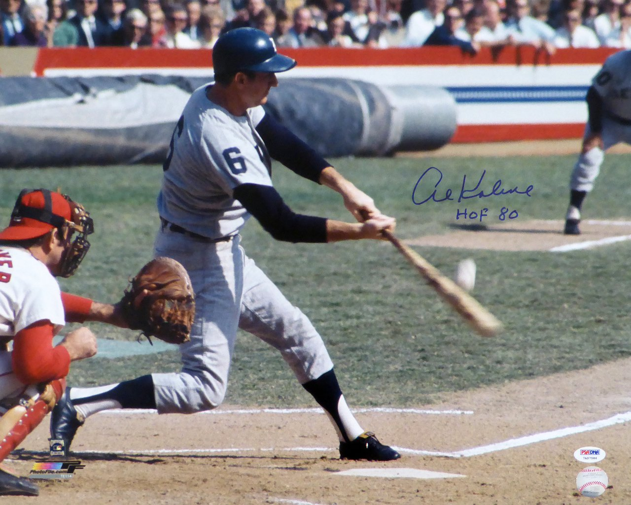 Al Kaline Detroit Tigers Signed Autographed 16x20 Photo PSA