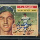 Al Kaline Tigers Signed Autographed 1956 Topps Card BECKETT