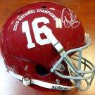 Derrick Henry Titans Signed Autographed Alabama Crimson FS Helmet PSA