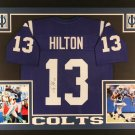 T.Y. Hilton Autographed Signed Framed Indianapolis Colts Jersey JSA