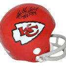 Bobby Bell Signed Autographed Kansas City Chiefs Mini Helmet TRISTAR