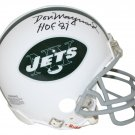 Don Maynard Autographed Signed New York Jets Mini Helmet TRISTAR