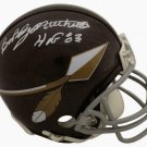 Bobby Mitchell Signed Autographed Washington Redskins TK Mini Helmet BECKETT