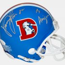 Vance Johnson Autographed Signed Denver Broncos Mini Helmet JSA