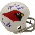 Williams Wehrli Smith & Wilson Autographed Signed St. Louis Cardinals Mini Helmet BECKETT