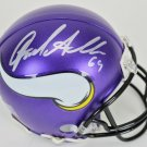 Jared Allen Autographed Signed Minnesota Vikings Mini Helmet BECKETT