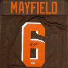 Baker Mayfield Autographed Cleveland Browns Jersey BECKETT