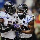 Ray Lewis & Ed Reed Autographed Signed Baltimore Ravens 16x20 Photo BECKETT