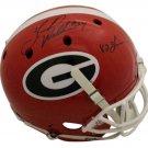 Herschel Walker Autographed Signed Georgia Bulldgos FS Helmet BECKETT