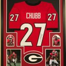 Hershel Walker Signed Autographed Georgia Bulldogs Framed Jersey BECKETT