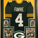 Aaron Rodgers Autographed Signed Green Bay Packers Framed Nike Jersey FANATICS