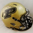 Mike Alstott Signed Autographed Purdue Boilermakers FS Speed JSA