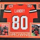 Jarvis Landry Autographed Signed Cleveland Browns Framed Jersey JSA