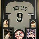 Graig Nettles Autographed Signed Framed New York Yankees Jersey JSA