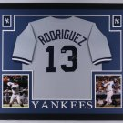 Alex Rodriguez Autographed Signed Framed New York Yankees Jersey PSA