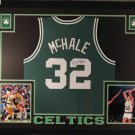Kevin McHale Autographed Signed Framed Boston Celtics Jersey JSA