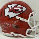 Mahomes Kelce Hill Williams Watkins Signed Autographed Chiefs FS Speed Proline Helmet FANATICS
