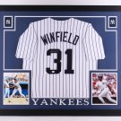 Dave Winfield Autographed Signed Framed New York Yankees Jersey JSA