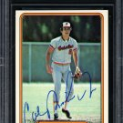 Cal Ripken Jr Orioles Autographed Signed 1982 Fleer Rookie Card BECKETT