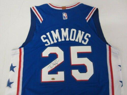 Ben Simmons Autographed Signed Philadelphia 76ers Jersey GAA COA