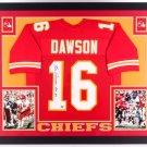 Len Dawson Autographed Signed Framed Kansas City Chiefs Jersey GTSM COA