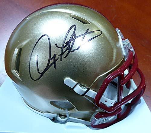 Doug Flutie Autographed Signed Boston College Eagles Mini Helmet BECKETT