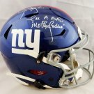 Lawrence Taylor Autographed Signed New York Giants FS SpeedFlex Helmet JSA