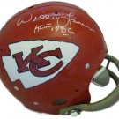 Willie Lanier Signed Autographed Kansas City Chiefs FS TB Helmet JSA