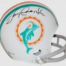 Larry Csonka Autographed Signed Miami Dolphins Mini Helmet BECKETT