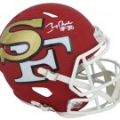 Jerry Rice Autographed Signed San Francisco 49ers Amp Speed Helmet BECKETT