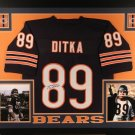 Mike Ditka Autographed Signed Framed Chicago Bears Jersey JSA
