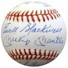 1953 New York Yankees Team (Mantle, Ford, Berra, Martin +12) Autographed Signed Baseball BECKETT