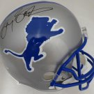 Barry Sanders Autographed Signed Full Size Detroit Lions Helmet BECKETT