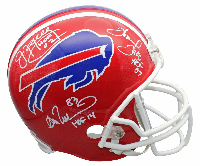 Kelly Reed & Thomas Autographed Signed Buffalo Bills Helmet BECKETT