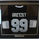 Wayne Gretzky Autographed Signed Framed Los Angeles Kings CCM Jersey BECKETT