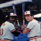 Cal Ripken Jr & Eddie Murray Orioles Autographed Signed 16x20 Photo JSA