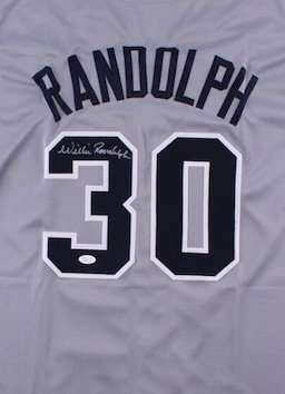 Willie Randolph Autographed Signed New York Yankees Jersey JSA